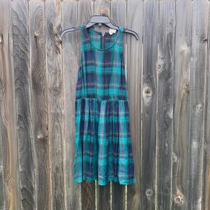 LAST CALL! Donating - funky plaid dress